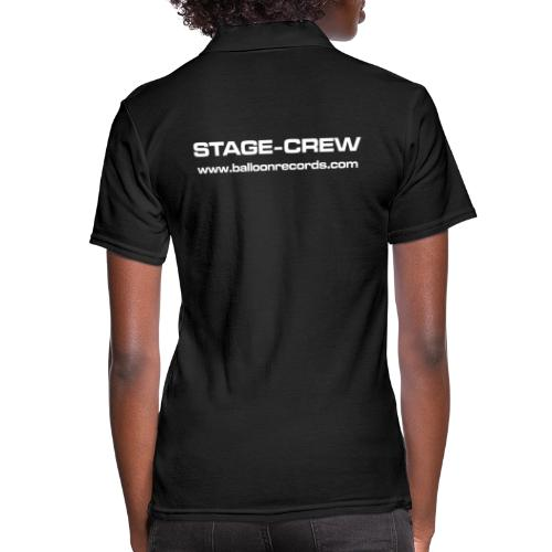 Stage-Crew - Frauen Polo Shirt