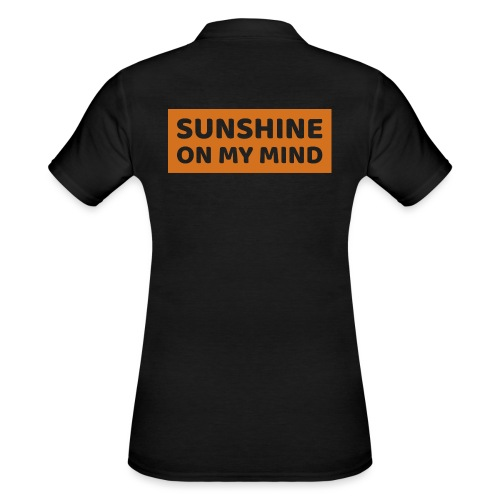 Słońce w mojej głowie - Women's Polo Shirt