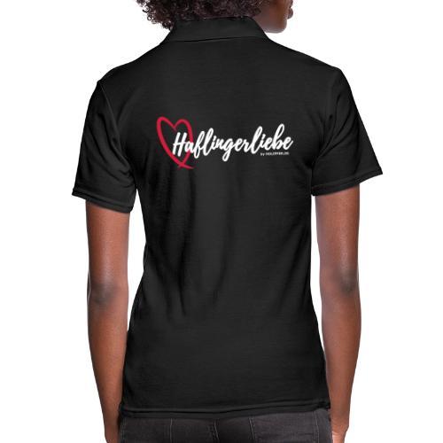 Haflingerliebe - Frauen Polo Shirt