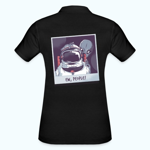 Aliens and astronaut - Women's Polo Shirt