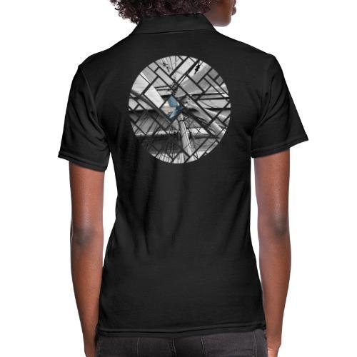 Segelschiff Grafisches Design - Frauen Polo Shirt