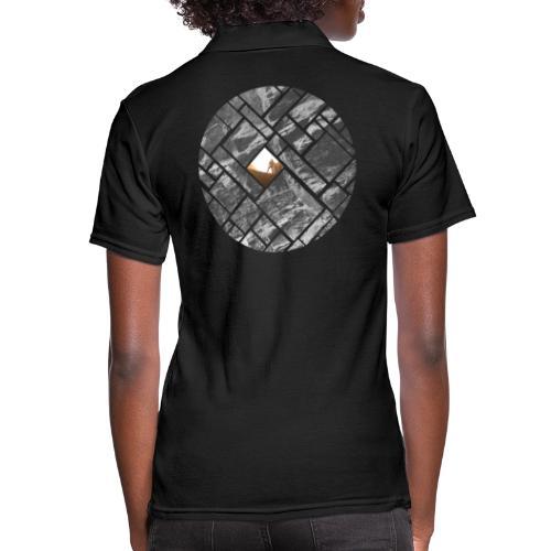 Felsklettern Bouldern Grafisches Design - Frauen Polo Shirt