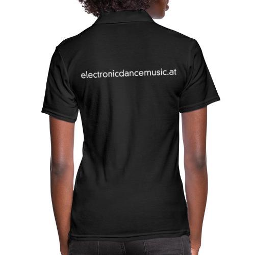 electronicdancemusic.at weiß doppelt - Frauen Polo Shirt