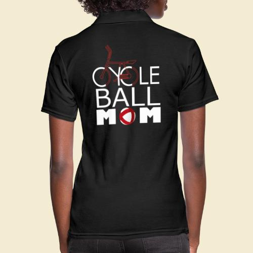 Radball | Cycle Ball Mom - Frauen Polo Shirt