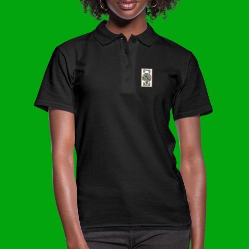 Full Colour Logo en tekst - Vrouwen poloshirt