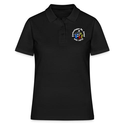 Logo Gif weiss farbig 120dpi 2000px - Frauen Polo Shirt