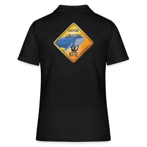 Roadsign Attention cerf-volant à basse altitude - Women's Polo Shirt