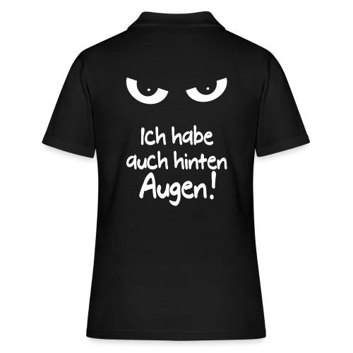 Böser Blick Augen Schlechte Laune Sprüche Geschenk - Frauen Polo Shirt