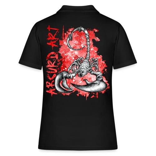 Knochentierchen Skorpion - Frauen Polo Shirt