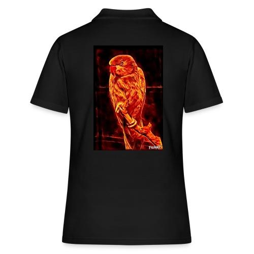 Bird in flames - Women's Polo Shirt