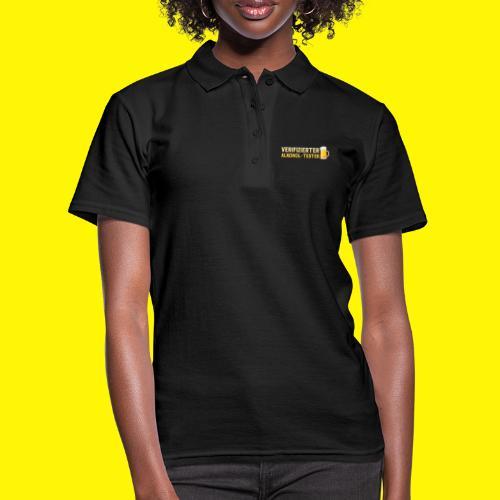 Verifizierter Alkohol-Tester - Frauen Polo Shirt