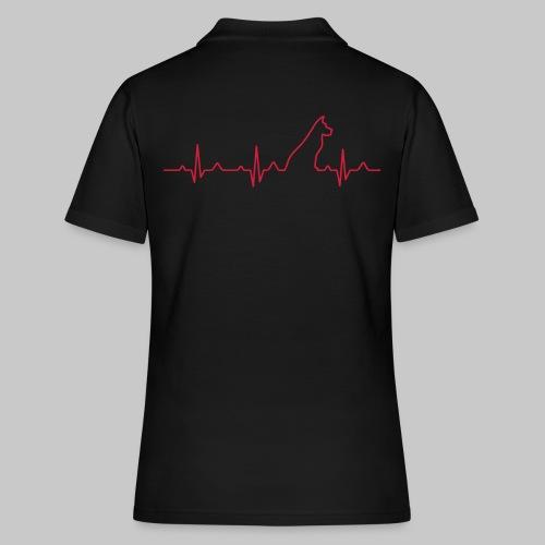 Dog Heartbeat 2 - Frauen Polo Shirt