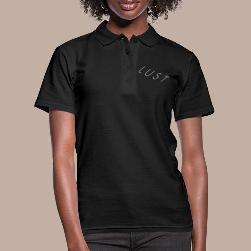 Lust mit Logo - Frauen Polo Shirt