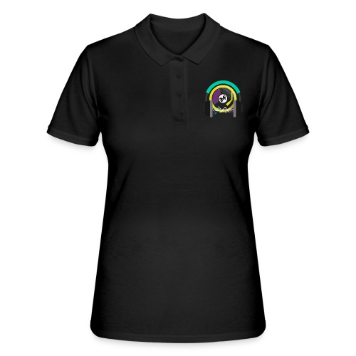 new circle snipped groß png - Frauen Polo Shirt