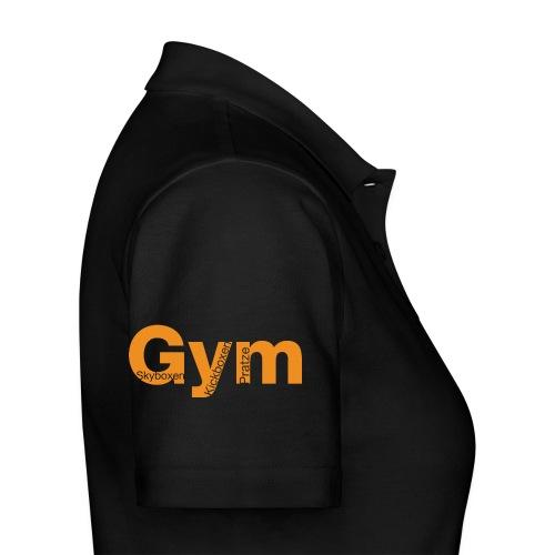 Gym orange - Frauen Polo Shirt