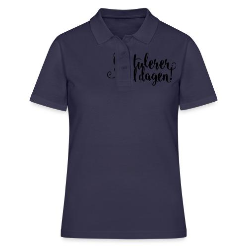 Gratulerer med dagen! - plagget.no - Women's Polo Shirt