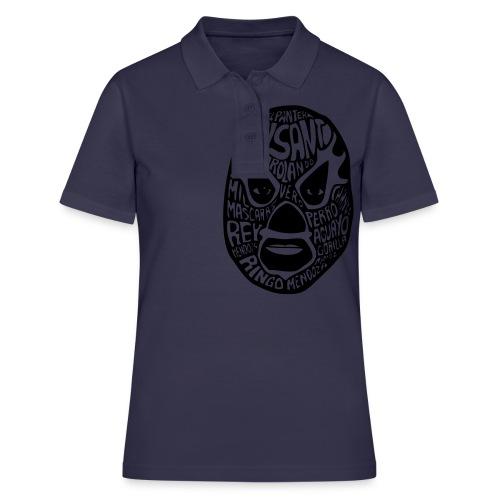 luchador mask2 - Women's Polo Shirt