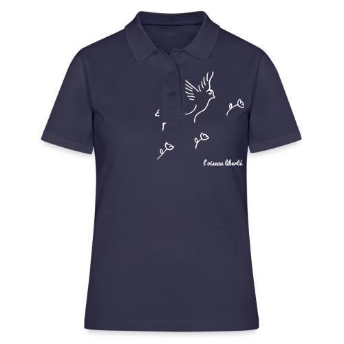 L'oiseau liberté (version light) - Polo Femme