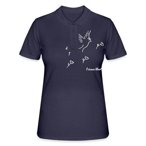 L'oiseau liberté (version light) - Women's Polo Shirt