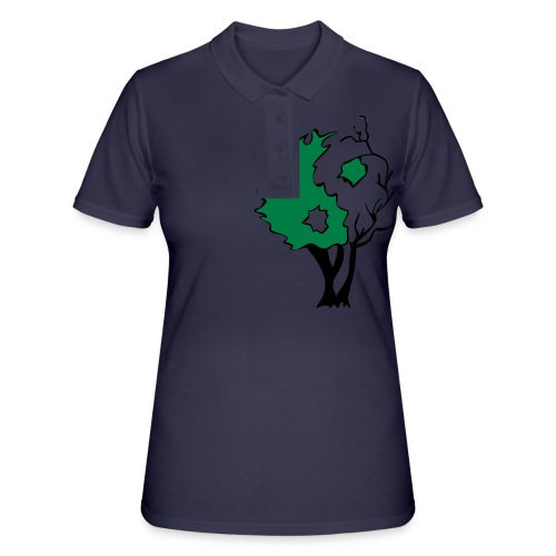 Yin Yang Arbre - Women's Polo Shirt