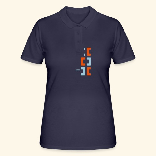 Hoa original logo v2 - Women's Polo Shirt