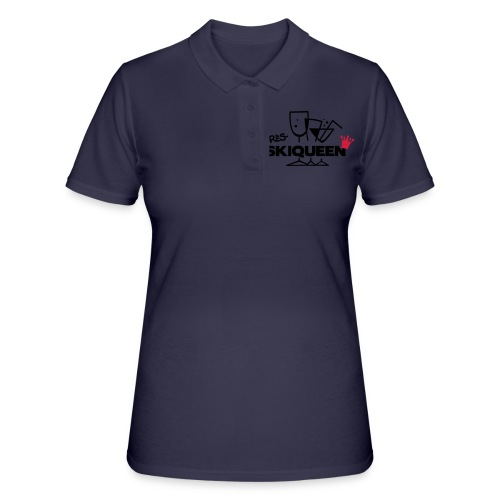 Apres Ski Queen - Frauen Polo Shirt