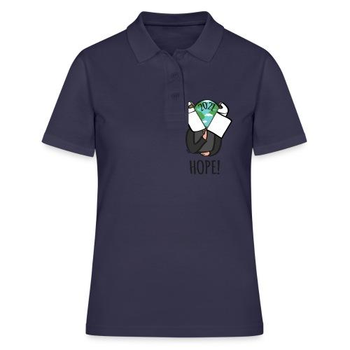 68 hope2021 - Frauen Polo Shirt