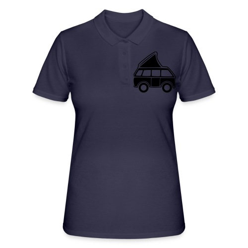 Campingbus - Frauen Polo Shirt