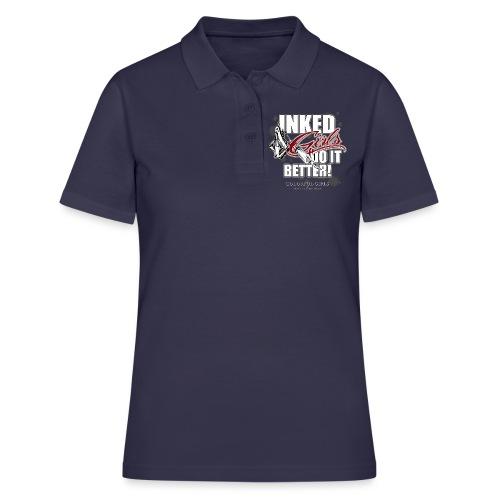 inked girls do it better - Frauen Polo Shirt