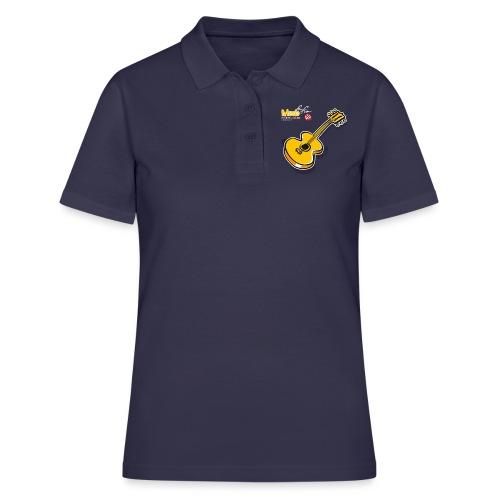 MusicForFun - dunkler Hintergrund - Frauen Polo Shirt