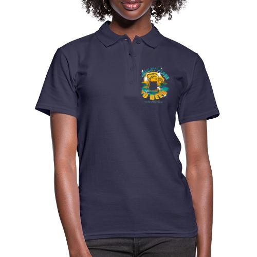 a perfect place to beer - Frauen Polo Shirt