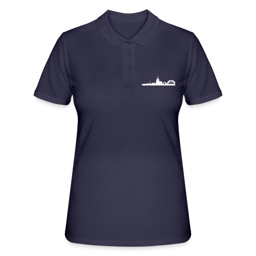 Köln-Skyline - Frauen Polo Shirt