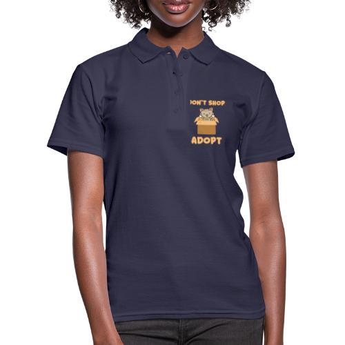 ADOBT DONT SHOP - Adoptieren statt kaufen - Frauen Polo Shirt
