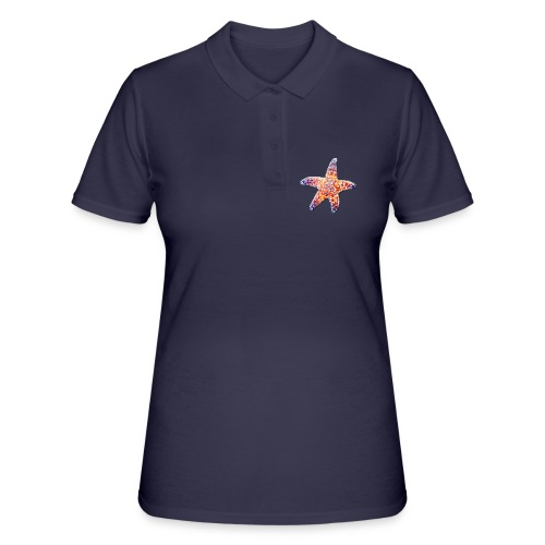 Seestern - Frauen Polo Shirt