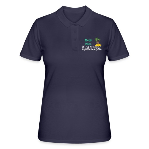 Mallorca meine Insel - Holiday Urlaub Ferien - Frauen Polo Shirt