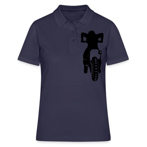 Motocross Start - Frauen Polo Shirt