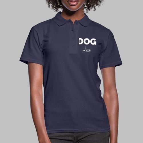 DOG LOVE - Geschenkidee für Hundebesitzer - Frauen Polo Shirt