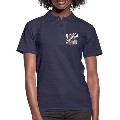 Don't mess up with the unicorn - Frauen Polo Shirt