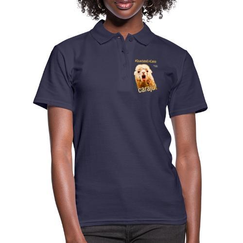 Quedate En Casa Caraju - Camiseta polo mujer
