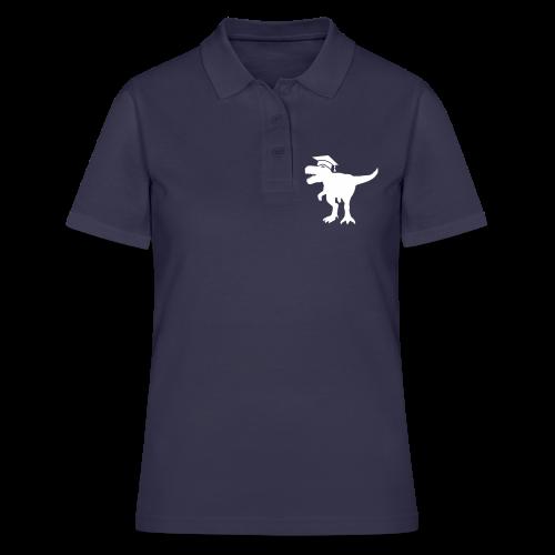 Dinosaurier Doktorhut Promotion Dissertation - Frauen Polo Shirt