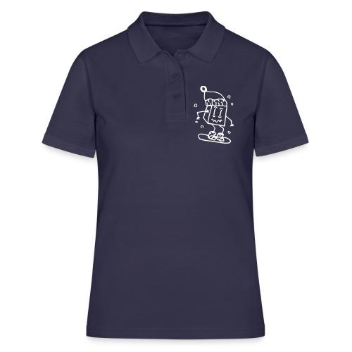 snowboarding - Women's Polo Shirt