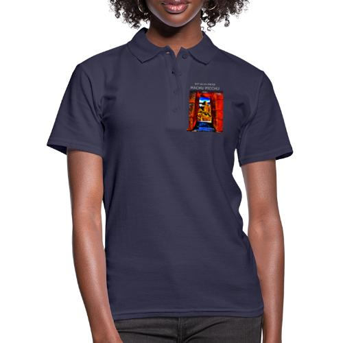 SOJA de los ANDES - Machu Picchu II - Frauen Polo Shirt
