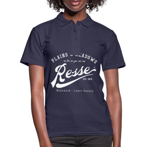 Resse Retrologo - Frauen Polo Shirt