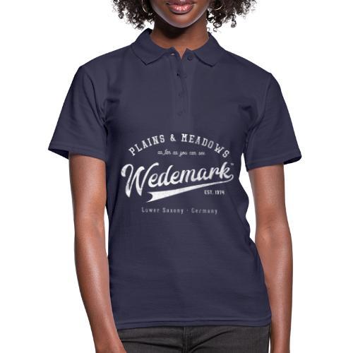 Wedemark Retrologo - Frauen Polo Shirt