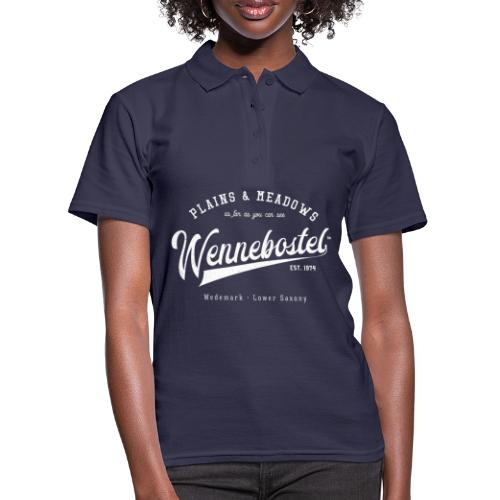 Wennebostel Retroshirt - Frauen Polo Shirt