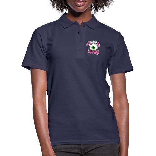Suzy Label (Color) - Women's Polo Shirt