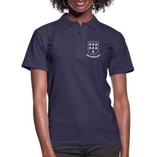 Sachsenwappen Siebenbürgen einfarbig - Frauen Polo Shirt