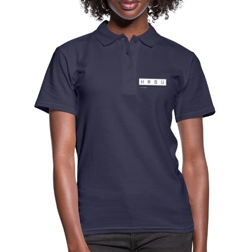 HRSU Wear Tape Red Big white - Frauen Polo Shirt