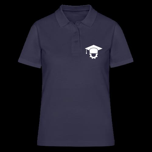 Ingenieur Doktorhut Maschinenbau Geschenk - Frauen Polo Shirt