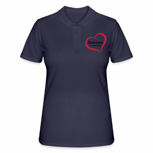 Dahoam is dahoam - Frauen Polo Shirt
